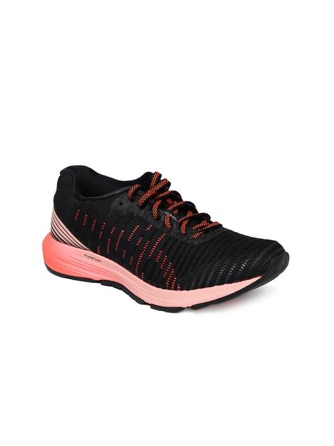 ASICS Women Black DynaFlyte 3 Running Shoes