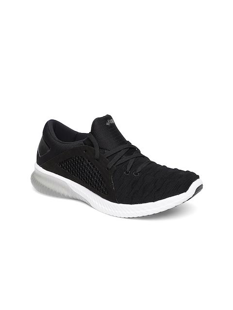 ASICS Women Black GEL-KENUN KNIT MX Running Shoes
