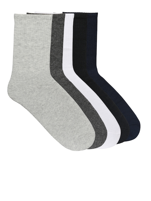 Supersox Men Pack of 5 Above Ankle-Length Socks