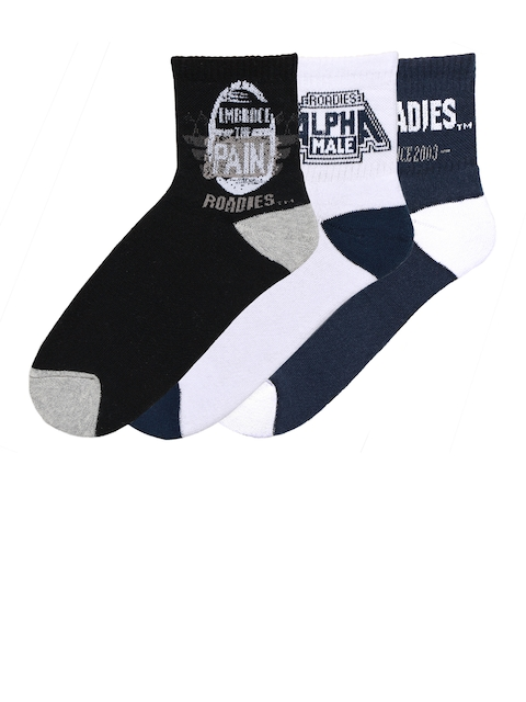 Supersox Men Pack Of 3 Above Ankle Length Socks