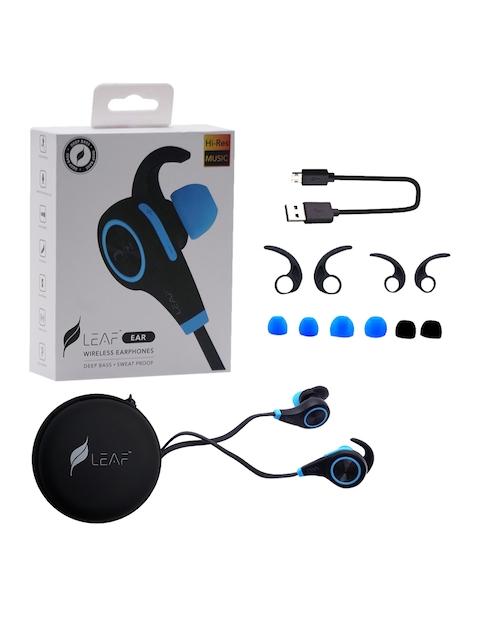 Leaf Lear Unisex Wireless Bluetooth Deep Bass Earphones with Mic