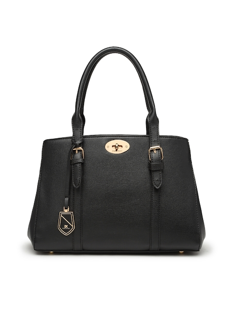Diana Korr Black Solid Handheld Bag