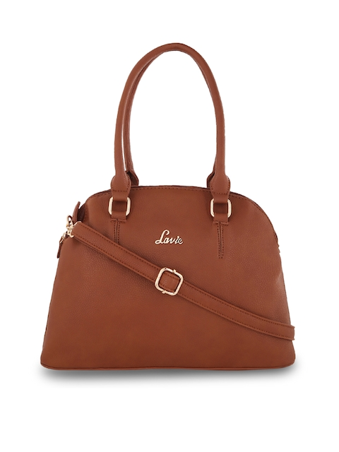 Lavie Tan Solid Satchel