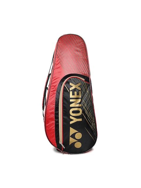 Yonex Unisex Red & Black Printed Badminton Kit Bag SUNR 4726TG BT6
