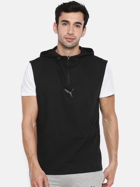 Puma Black Modern Sports SL Hooded Sweatshirt