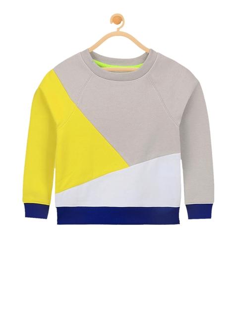 Cherry Crumble Unisex Multicoloured Colourblocked Sweatshirt