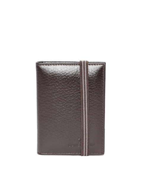 Business card holders price list in india 21 september 2018 30off daniel klein men coffee brown solid leather handcrafted card holder reheart Choice Image