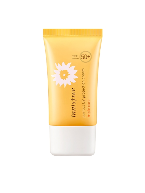Innisfree Unisex Triple Cream SPF 50 Perfect UV Protection Cream 50 ml