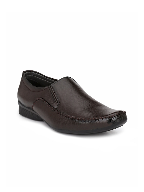 Fentacia Men Brown Slip-On Formals