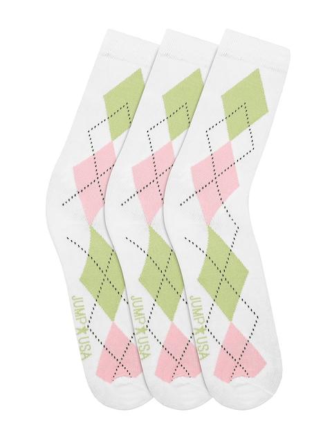 JUMP USA Women Pack of 3 Calf Length Socks
