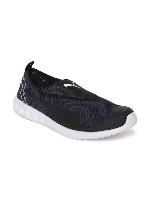 Puma Men Navy Blue Solid Concave 2 Slip On IDP Walking Shoes