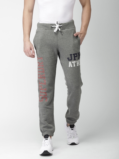 Superdry Men Grey Slim Fit Joggers