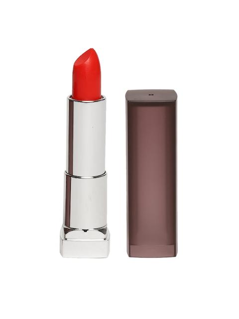 Maybelline Fire Cracker Red 633 New York Color Sensational Creamy Matte Lipstick 3.9g