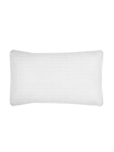 Portico New York White Cotton Pillow