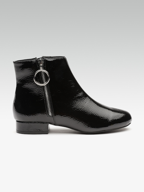 DOROTHY PERKINS Women Black Flat Boots