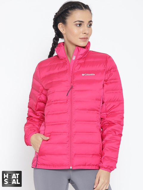 Columbia PinkLake 22 Down Winter Outdoor Hiking & Trekking Qulited Jacket