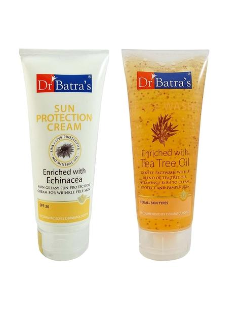 Dr. Batras Sun Protection Cream & Dail Face Wash