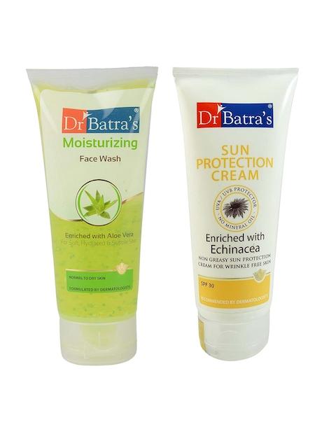 Dr. Batras Moisturizing Face Wash & Sun Protection Cream