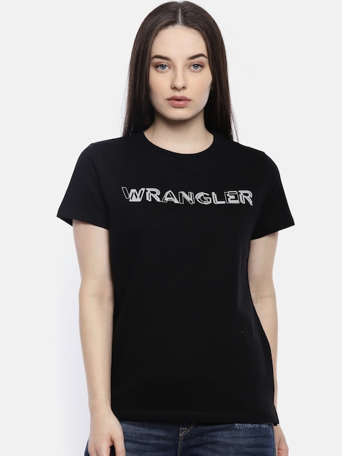 e52d018fa99 Wrangler Women Tops   T-Shirts Price List in India 3 April 2019 ...