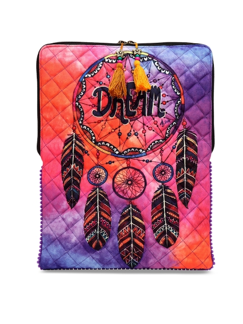 The House of Tara Unisex Multicoloured Printed Laptop Sleeve