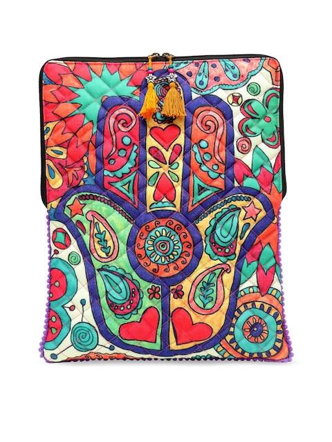 The House of Tara Unisex Multicoloured Printed Laptop Sleeve