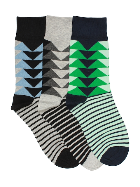 Supersox Men Pack of 3 Regular Length Socks