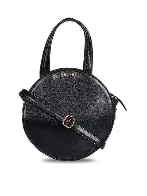 3 Mad Chicks Black Solid Sling Bag