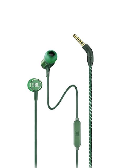 JBL Unisex Green Live 100 Earphones