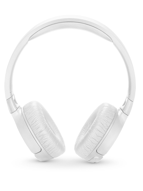 JBL White TUNE600BTNC Headphones