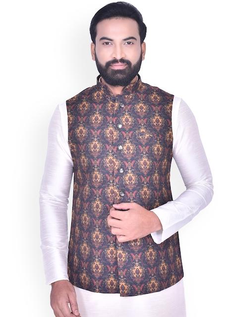 Manyavar Men Multicoloured Nehru Jacket