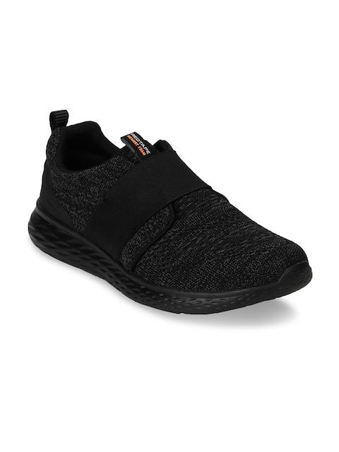Red Tape Men Black Athleisure Sports Range Walking Shoes