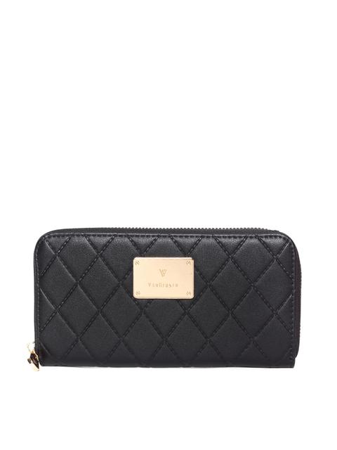 Van Heusen Woman Women Black Zip Around Wallet