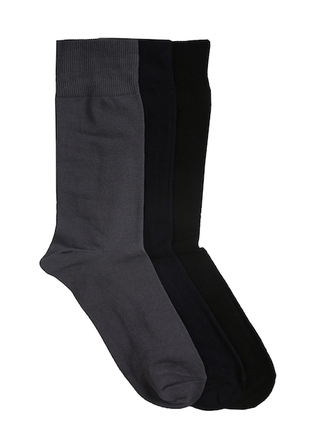 Van Heusen Men Pack of 3 Assorted Above Ankle Socks