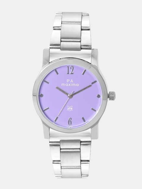 maxima Women Lavender Analogue Watch O-46663CMLI
