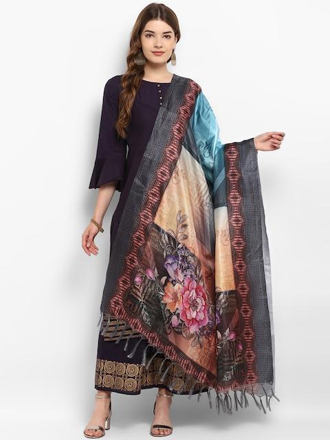 Saree mall Multicoloured Printed Dupatta