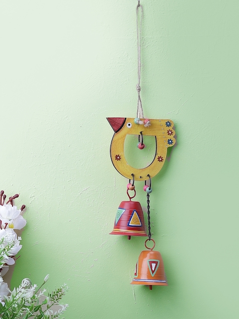 VarEesha Multicoloured Bird -Shaped Windchime