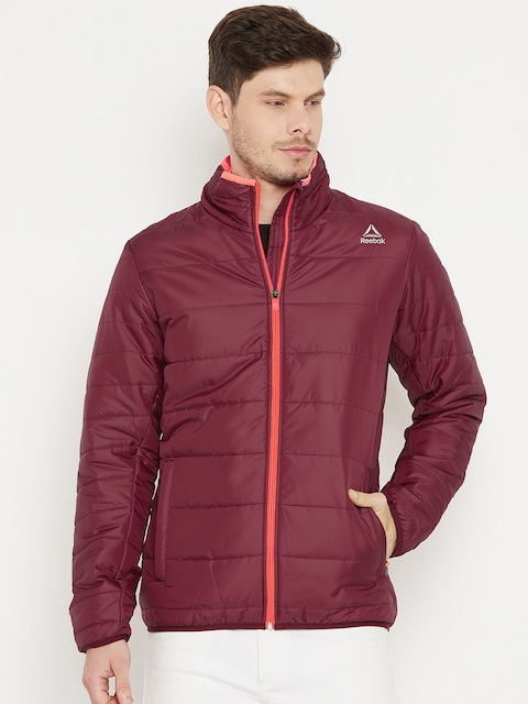 Reebok Maroon MS Core Padded Outdoor Jacket