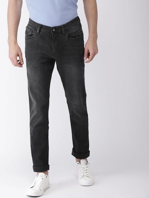 Arrow Sport Men Black James Slim Fit Mid-Rise Clean Look Stretchable Jeans