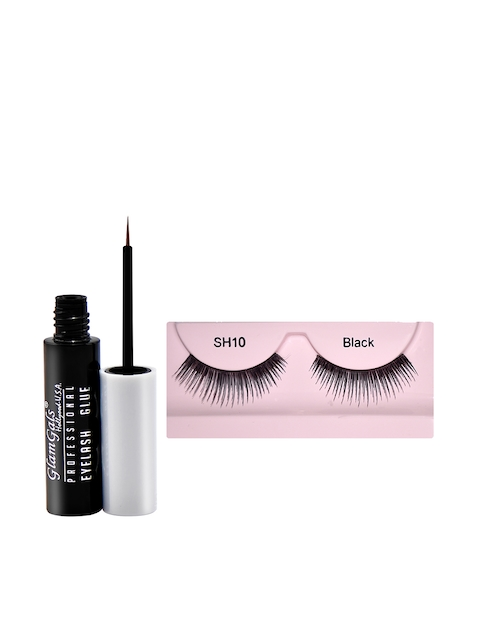 GlamGals Stylish Eye Lashes with Transparent Glue