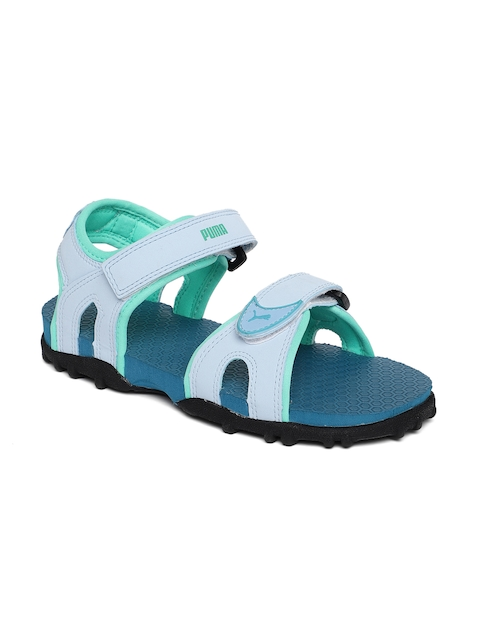 Puma Kids Blue Track PS IDP Sports Sandals