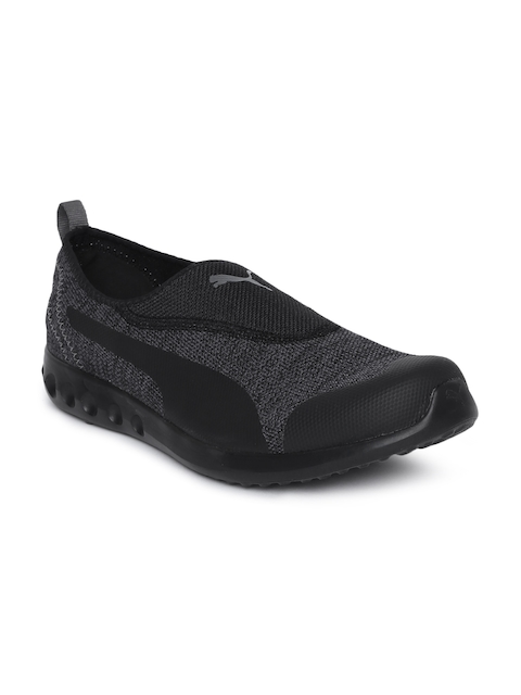 Puma Men Black Concave 2 Slip On IDP Walking Shoes