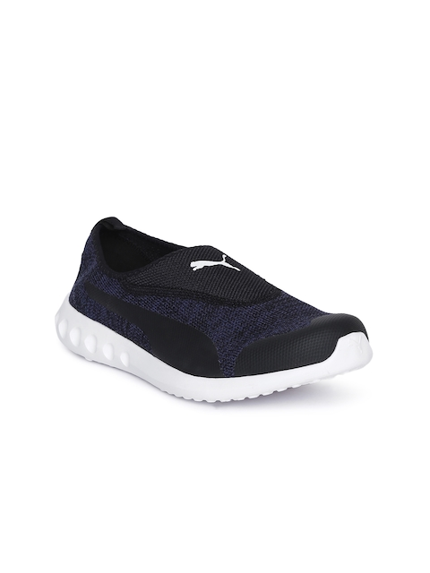 Puma Women Navy Blue Carson 2 Slip-On Walking Shoes