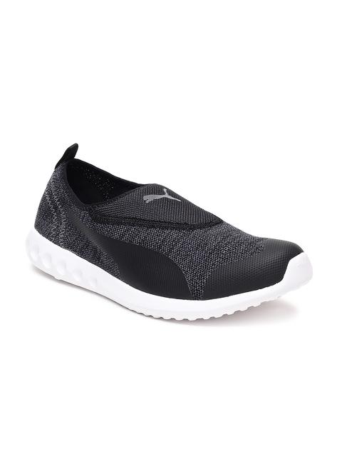 Puma Men Black Concave 2 Slip On Walking Shoes