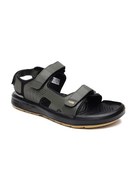 Puma Men Olive Green Stance v4 IDP Comfort Sandals