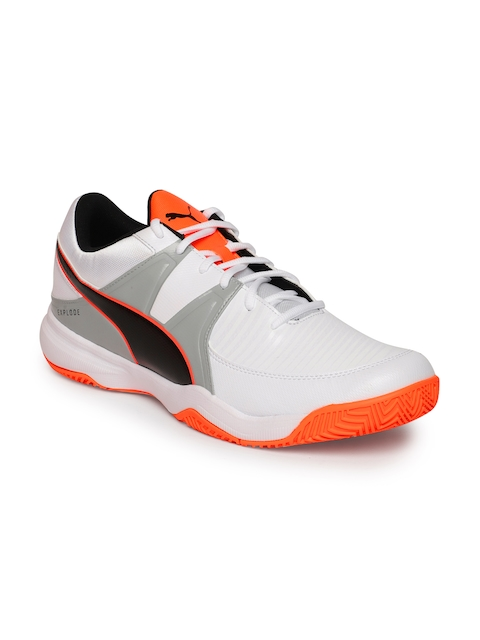 Puma Men White Explode 3 Badminton Shoes