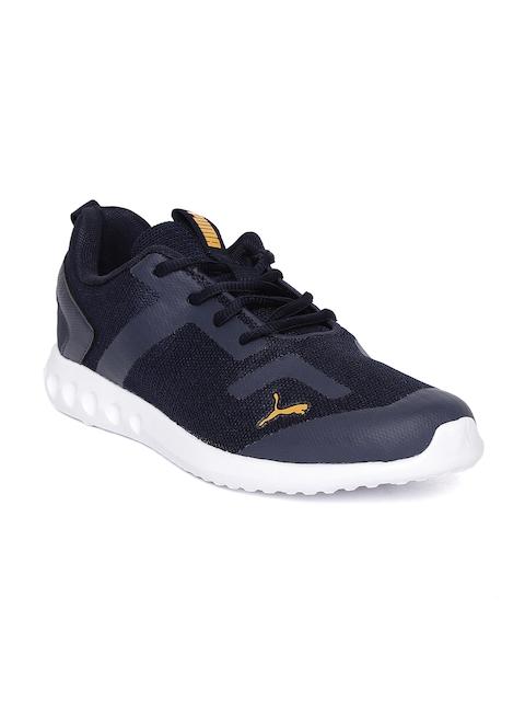 Puma Men Navy Blue Concave IDP Walking Shoes