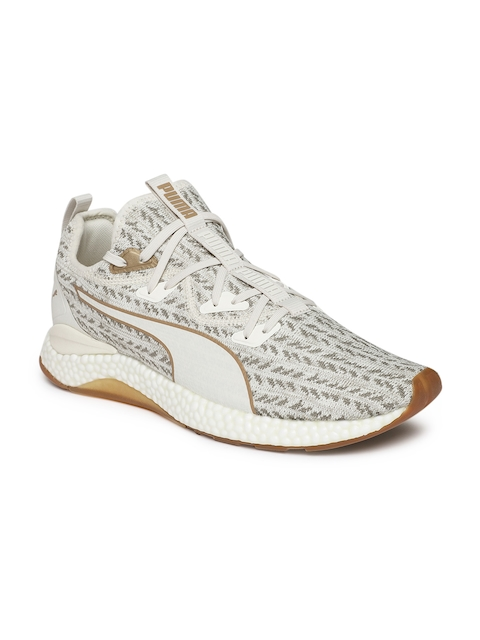 Puma Men Beige Hybrid Runner Desert Running Shoes