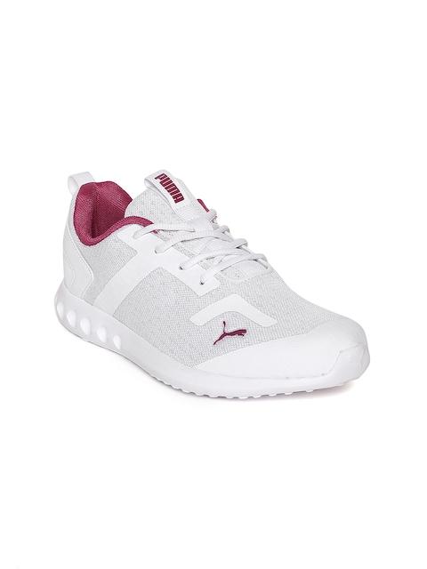 Puma Women White Concave Wns IDP Walking Shoes