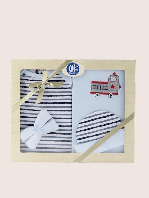 YK Blue 5 Pcs Baby Gift Set