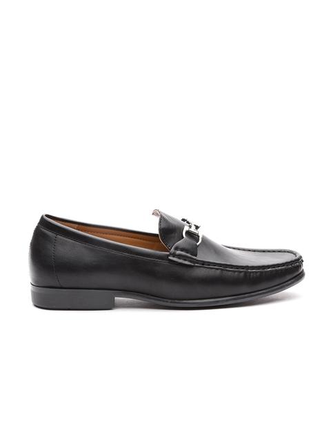 Carlton London Men Black Loafers